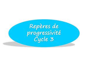 repères de progressivité C3